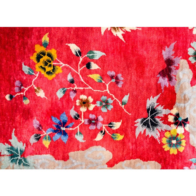 1920s Chinese Art Deco Rug For Sale - Image 5 of 10