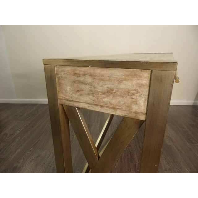 Hooker Furniture Large Two Drawer Console Table For Sale In West Palm - Image 6 of 7