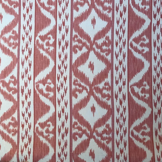 Cowtan & Tout Rapallo Coral Fabric For Sale