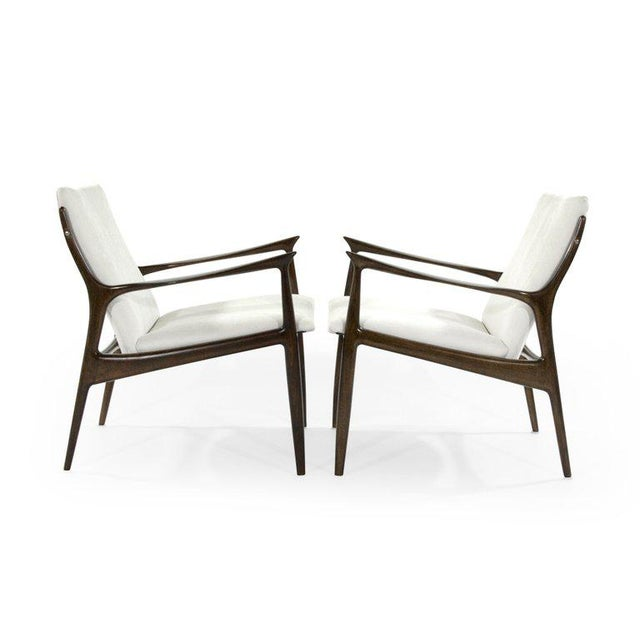Mid 20th Century Lounge Chairs by Ib Kofod-Larsen For Sale - Image 5 of 13