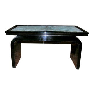 French Art Deco Shagreen Occasional Table For Sale