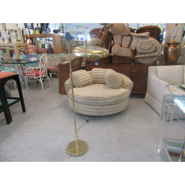 Vintage Modern Brass Floor Lamp - Image 2 of 7