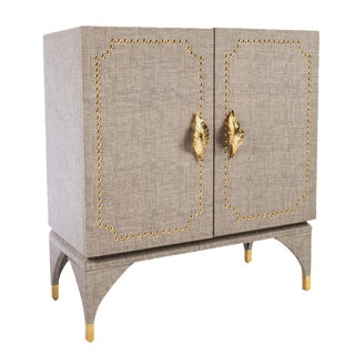 Statements By J Feuille Studded Cabinet For Sale