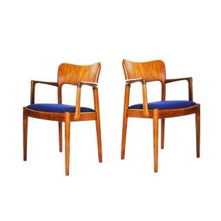 One 1960s Mid-Century Modern Koefoeds Hornslet Teak Arm Chair For Sale