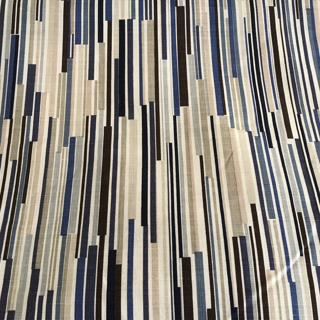"""Christopher Farr """"Scaffolding"""" Fabric - 4 Yards For Sale In New York - Image 6 of 6"""