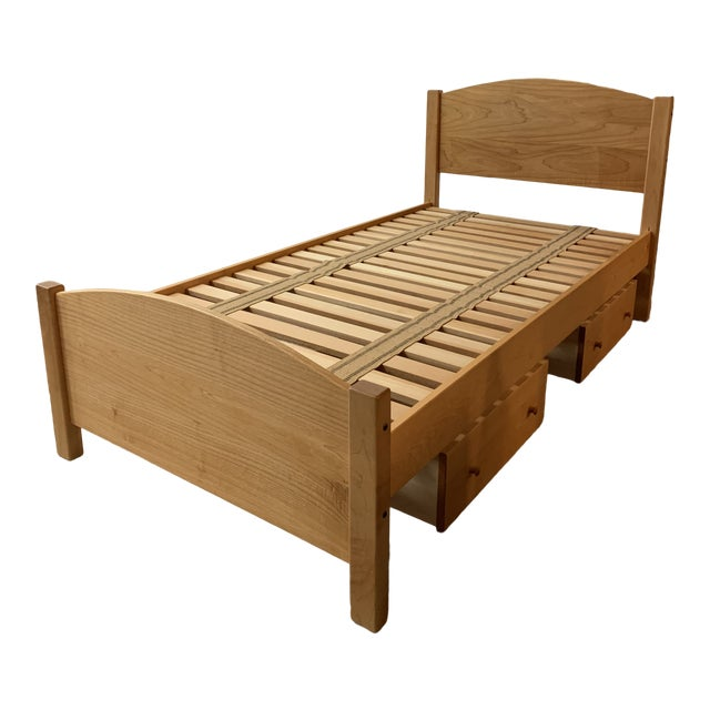 """Twin Size Pacific Rim """"The Classic"""" Solid Maple + Integrated Storage For Sale"""