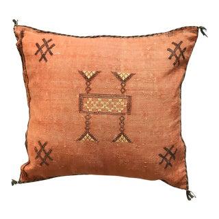 Moroccan Sabra Silk Pillow