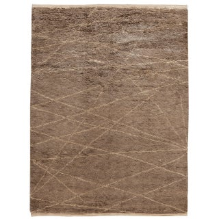 """21st Century Modern Moroccan-Style Rug, 9'0"""" X 12'0"""" For Sale"""