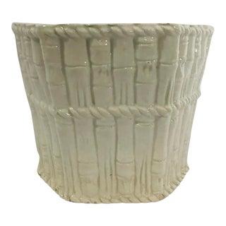 1960s Vintage Ceramic Italian Planter For Sale
