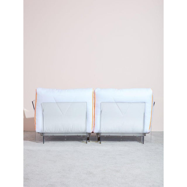 Contemporary Buffy X Kartell Pop Loveseat For Sale - Image 3 of 5