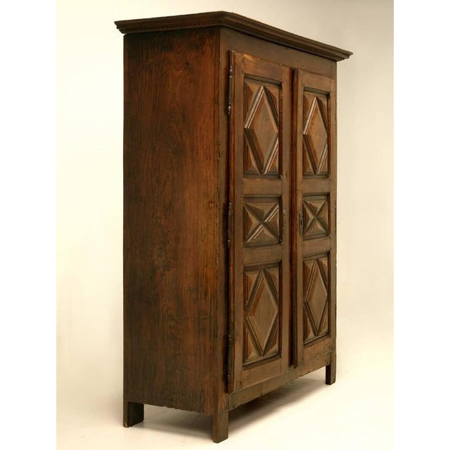 Antique French Louis XIII Style Armoire - Image 2 of 10