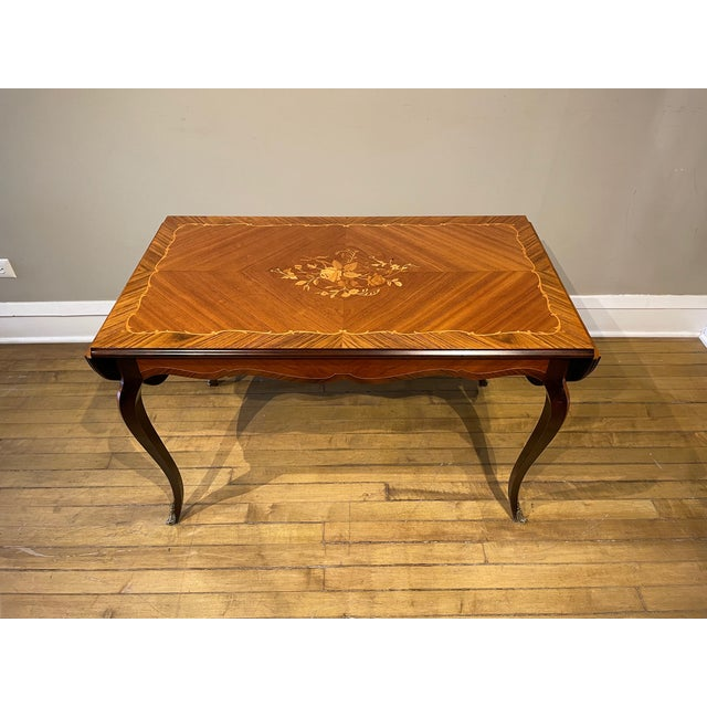 Antique Louis XV Coffee Table For Sale - Image 4 of 8