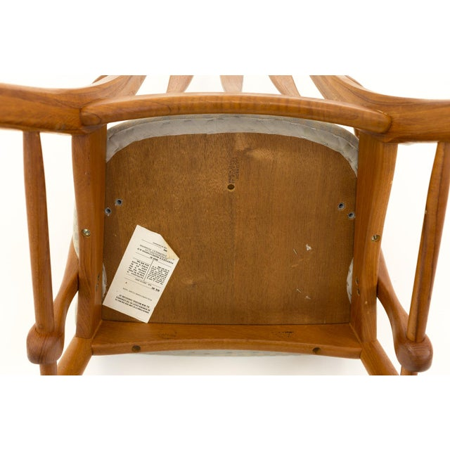 Vintage Mid Century Niels Koefoed Hornslet Danish Teak Eva Dining Chairs - Set of 6 For Sale - Image 12 of 13
