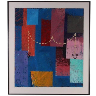 """""""Waltz Trieste"""" Painting by Danny Williams, 1988 For Sale"""