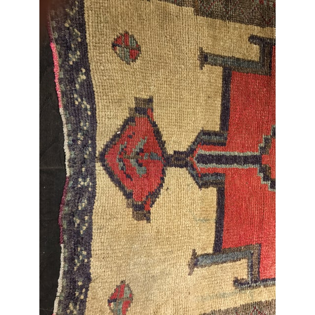 Bellwether Rugs Tribal Pattern Vintage Turkish Oushak Rug - 2′10″ × 12′3″ - Image 3 of 11