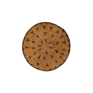 Native American 1920s Antique Mission Basket For Sale