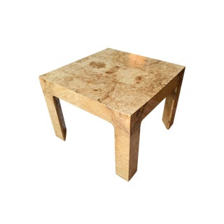 1970s Burl Coffee or Side Table Attributed to Harvey Probber For Sale