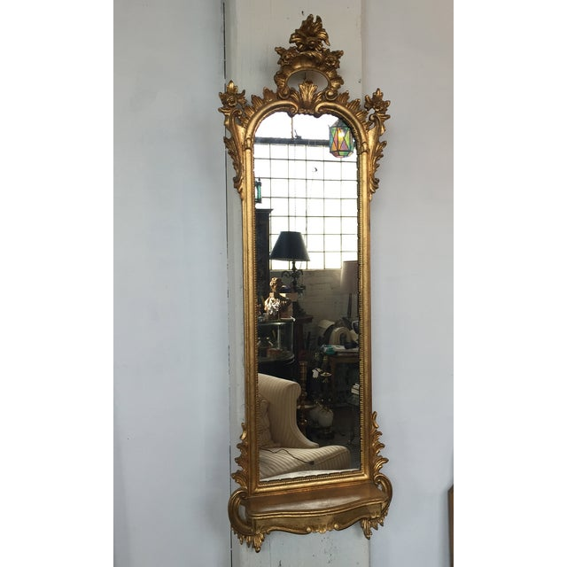 Italian Rococo Gilt Tall Mirror by La Barge - Image 2 of 10