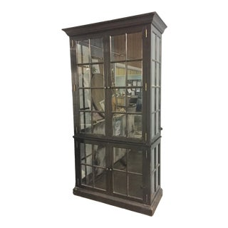 Century Monarch Display Cabinet For Sale