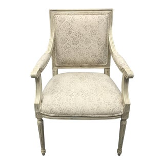 Vintage Regency Style Armchair For Sale