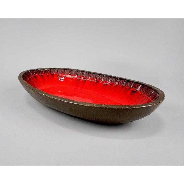 Jan Ryheul Mid Century Belgian Ceramic Platter - Image 4 of 8