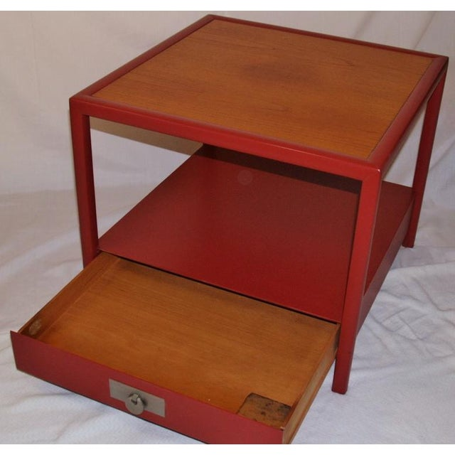 1950s Michael Taylor for Baker Side Tables - a Pair For Sale - Image 5 of 8