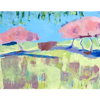 Contemporary Landscape on Canvas Painting For Sale