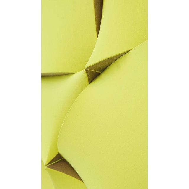 """Jan Maarten Voskuil """"Non-Fit Broken Light Yellow"""" Acrylics on Linen, 2017 For Sale - Image 9 of 10"""