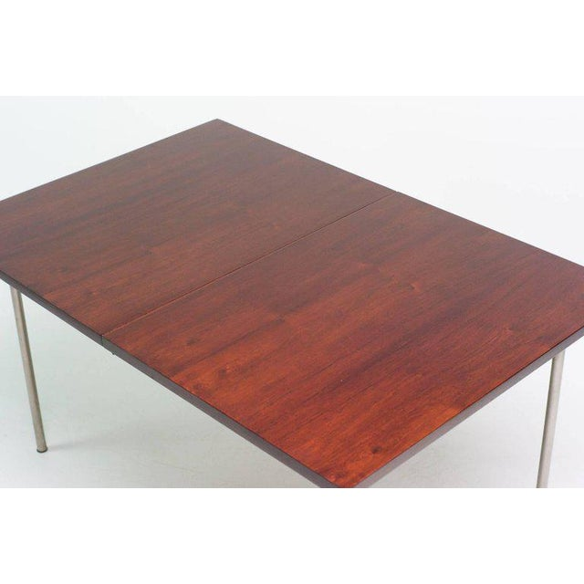 Fabric Rosewood Dining Set by Cees Braakman for Pastoe For Sale - Image 7 of 10