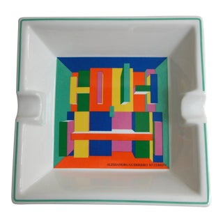 Ritzenhoff Alessandro Guerriero Ashtray Trinket Tray For Sale
