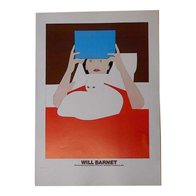 Will Barnet Vintage Poster Lithograph For Sale
