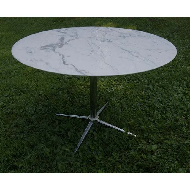 Florence Knoll Marble Table - Image 5 of 8