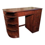 Image of Streamline Moderne Writing Desk For Sale