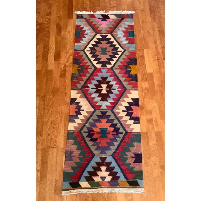 Turkish Anatolian natural dye Rug. ORIGIN : Region of Anatolia (TURKEY) MATERIAL : 100% hand spun organic wool SİZE :...