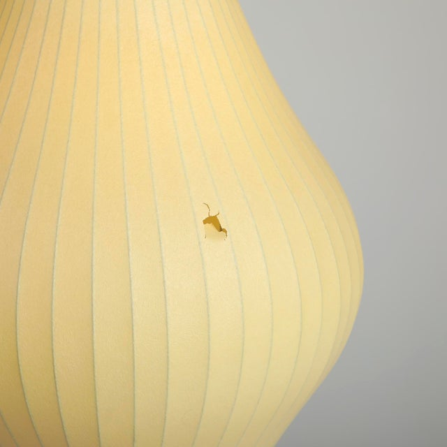 1950s Vintage George Nelson for Howard Miller Bubble Lamp For Sale - Image 6 of 8
