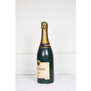 Large Vintage French Taittinger Bottle Prop Preview