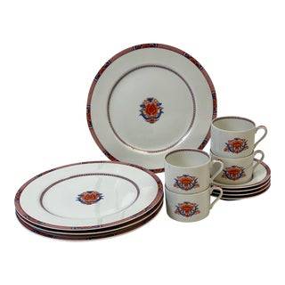 Vintage Fitz & Floyd Regency Dinnerware - Set of 12 For Sale