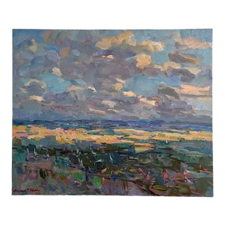 """""""Glades Shadows"""" Landscape Oil Painting by James P. Kerr For Sale"""