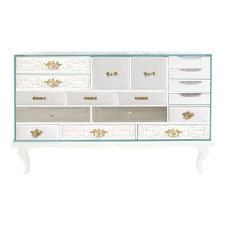 Covet Paris Soho White Sideboard For Sale