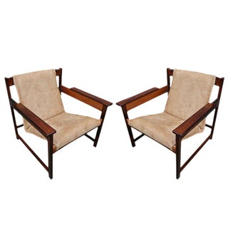 Sergio Rodrigues Lia Chairs-A Pair For Sale
