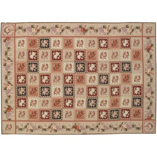 Stark Studio Rugs Traditional Chinese Needlepoint Rug - 9' X 12' For Sale