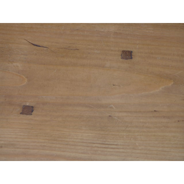 20th Century Scandinavian Pine Drop Leaf Coffee Table For Sale In Boston - Image 6 of 7