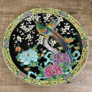 Japanese Decorative Bird Plate Preview