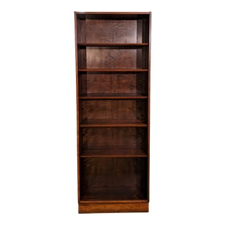 Vintage Danish Mid Century Rosewood Hundevad Bookcase - Kim For Sale