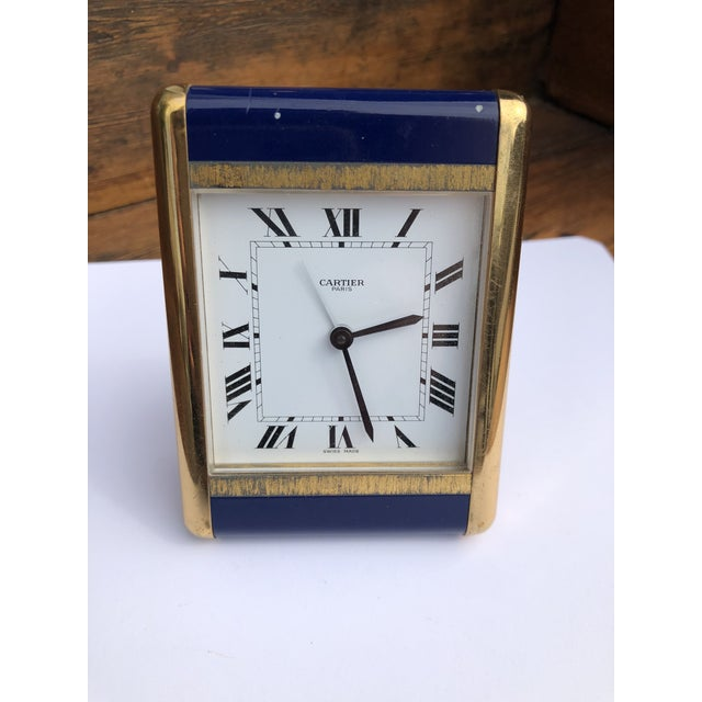 Cartier Paris Travel Clock For Sale - Image 13 of 13