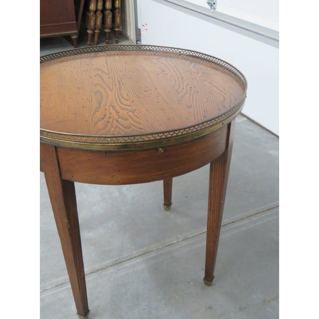 Antique Louis XIV Style Bouillotte Table For Sale In Philadelphia - Image 6 of 10