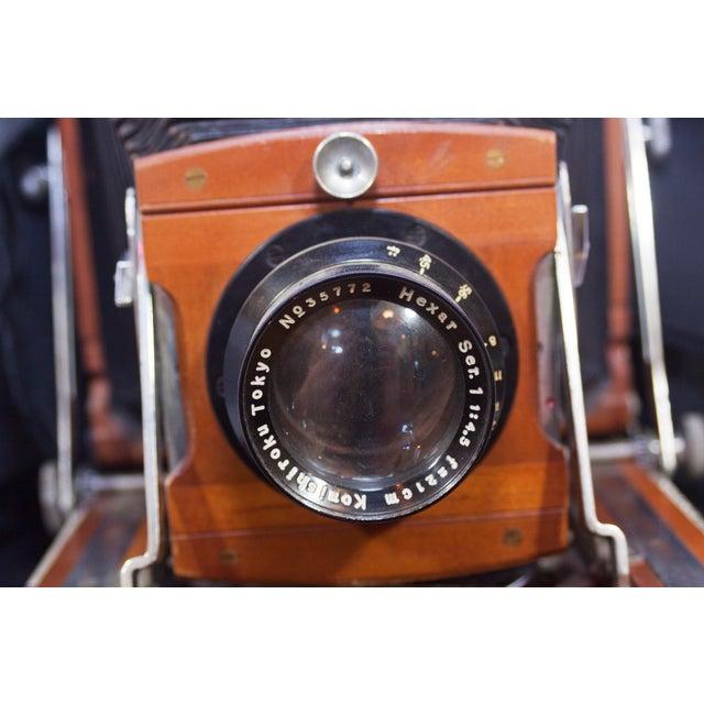 Vintage Konishiroku Tokyo Field Camera For Sale - Image 9 of 13