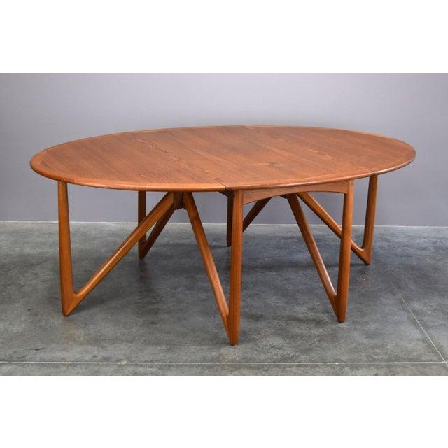 On Hold - Niels Koefoed / Kurt Østervig Danish Teak Dining Table - Image 3 of 11