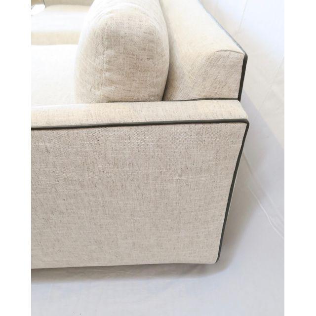 Contemporary Martin & Brockett Harrison Sofa For Sale - Image 3 of 5