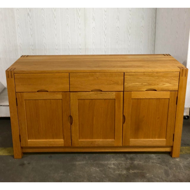 Danish Modern 1900s Danish Modern Oak Dresser For Sale - Image 3 of 10